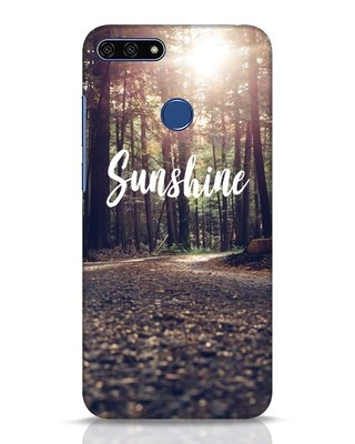 Shop Sunshine Huawei Honor 7A Mobile Cover-Front