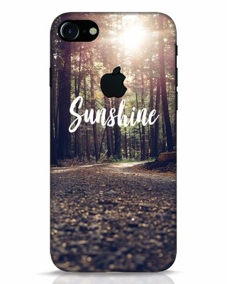 Shop Sunshine iPhone 7 Logo Cut Mobile Cover-Front