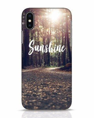 Shop Sunshine iPhone X Mobile Cover-Front