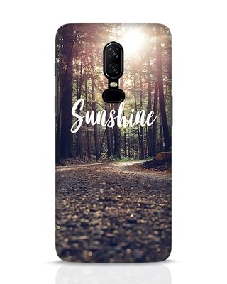 Shop Sunshine OnePlus 6 Mobile Cover-Front