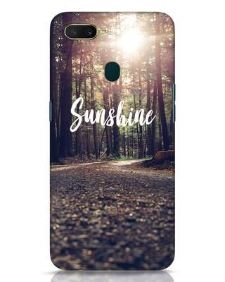 Shop Sunshine Oppo A7 Mobile Cover-Front