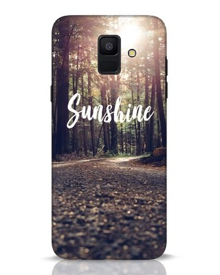 Shop Sunshine Samsung Galaxy A6 2018 Mobile Cover-Front
