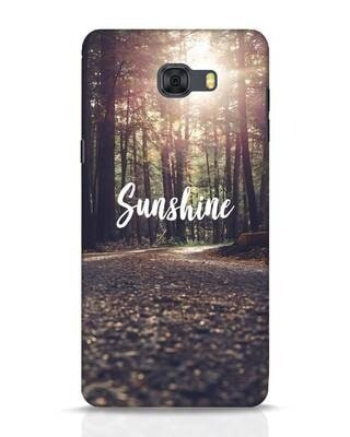 Shop Sunshine Samsung Galaxy C9 Pro Mobile Cover-Front