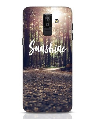 Shop Sunshine Samsung Galaxy J8 Mobile Cover-Front