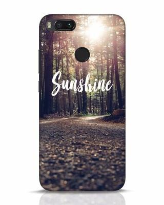 Shop Sunshine Xiaomi Mi A1 Mobile Cover-Front