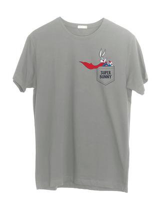 Shop Super Bunny Half Sleeve T-Shirt (LTL)-Front