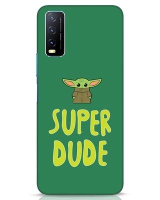 Shop Super Dude Vivo Y20 Mobile Cover-Front