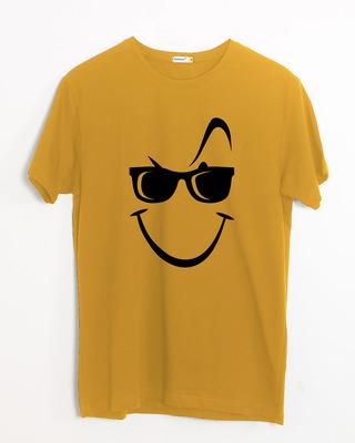 Shop Super Swag Smile Half Sleeve T-Shirt-Front