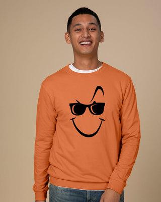 Shop Super Swag Smile Sweatshirt-Front