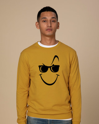 Shop Super Swag Smile Sweatshirt-Front