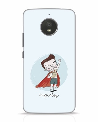 Shop Superboy Moto E4 Plus Mobile Cover-Front