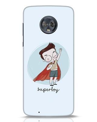 Shop Superboy Moto G6 Mobile Cover-Front