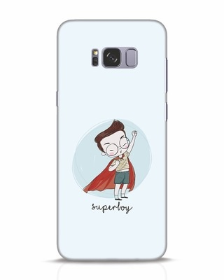 Shop Superboy Samsung Galaxy S8 Plus Mobile Cover-Front