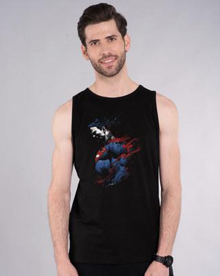 Shop Superman Colors Vest (SL)-Front