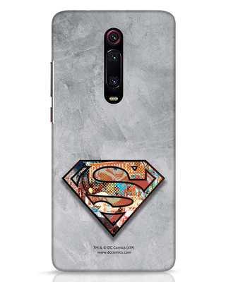 Shop Superman Logo Collage Xiaomi Redmi K20 Mobile Cover-Front