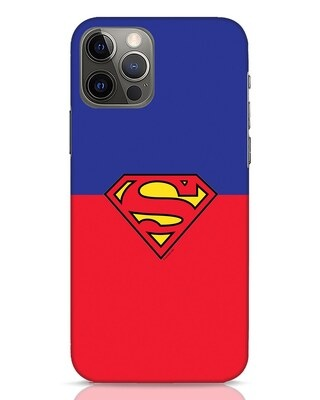 Shop Superman Logo iPhone 12 Pro Max Mobile Cover-Front