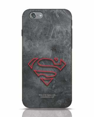 Shop Superman Logo Line iPhone 6 Mobile Cover-Front
