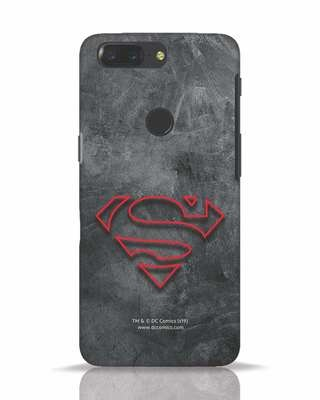Shop Superman Logo Line OnePlus 5T Mobile Cover-Front
