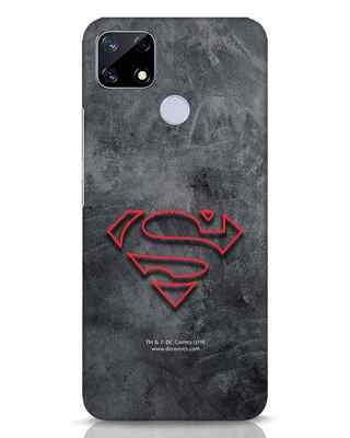 Shop Superman Logo Line Realme Narzo 20 Mobile Cover-Front