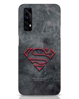 Shop Superman Logo Line Realme Narzo 20 Pro Mobile Cover-Front