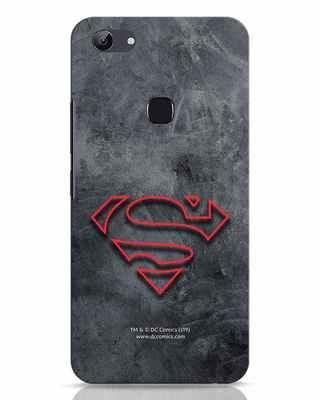 Shop Superman Logo Line Vivo Y83 Mobile Cover-Front