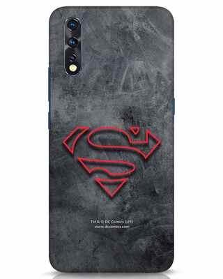 Shop Superman Logo Line Vivo Z1x Mobile Cover-Front
