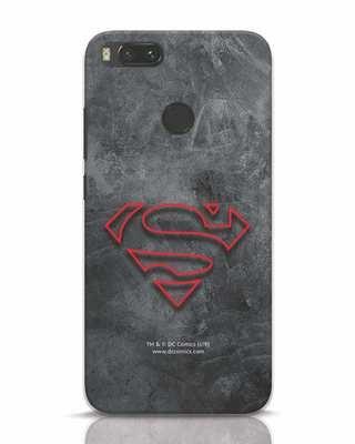 Shop Superman Logo Line Xiaomi Mi A1 Mobile Cover-Front