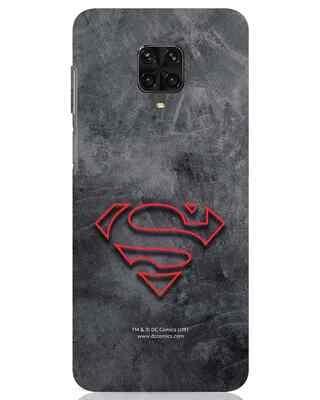 Shop Superman Logo Line Xiaomi Poco M2 pro Mobile Cover-Front