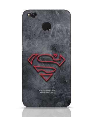 Shop Superman Logo Line Xiaomi Redmi 4 Mobile Cover-Front