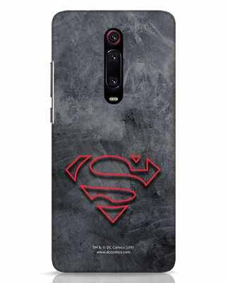 Shop Superman Logo Line Xiaomi Redmi K20 Mobile Cover-Front