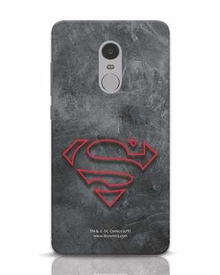 Shop Superman Logo Line Xiaomi Redmi Note 4 Mobile Cover-Front