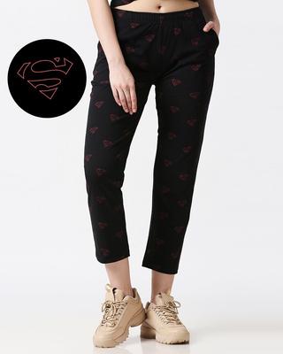 Shop Superman minimal (SML) AOP Pyjama-Front