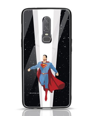 Shop Superman Skyfall OnePlus 6 Mobile Cover (SL)-Front