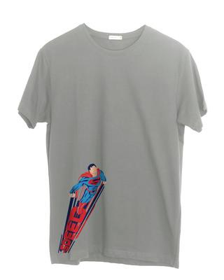 Shop Superman Speed Half Sleeve T-Shirt (SL)-Front