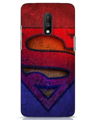 Shop Superman Stone OnePlus 7 Mobile Cover (SL)-Front