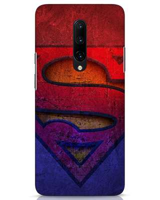 Shop Superman Stone OnePlus 7 Pro Mobile Cover (SL)-Front