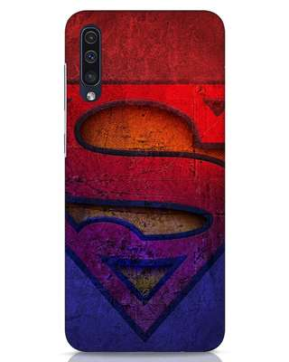 Shop Superman Stone Samsung Galaxy A50 Mobile Cover (SL)-Front