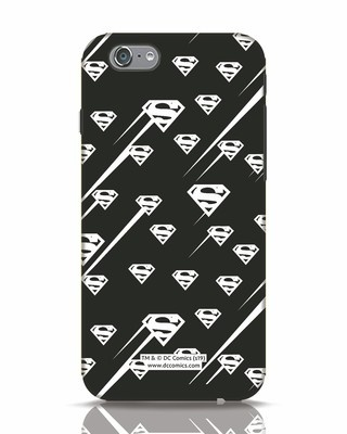 Shop Superman Streaks iPhone 6s Mobile Cover (SL)-Front