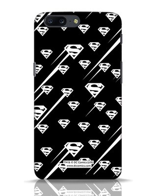 Shop Superman Streaks OnePlus 5 Mobile Cover (SL)-Front