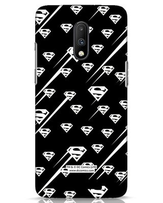 Shop Superman Streaks OnePlus 7 Mobile Cover (SL)-Front