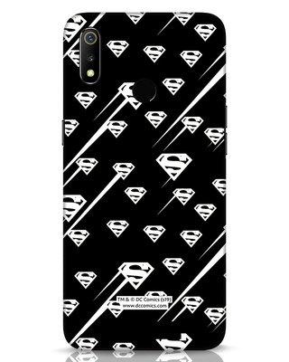 Shop Superman Streaks Realme 3 Mobile Cover (SL)-Front