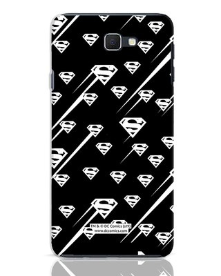 Shop Superman Streaks Samsung Galaxy J7 Prime Mobile Cover (SL)-Front