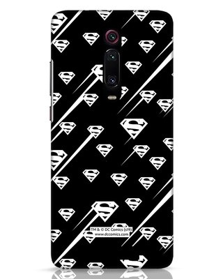 Shop Superman Streaks Xiaomi Redmi K20 Mobile Cover (SL)-Front