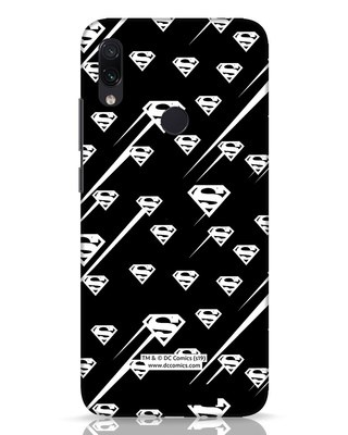 Shop Superman Streaks Xiaomi Redmi Note 7 Pro Mobile Cover (SL)-Front
