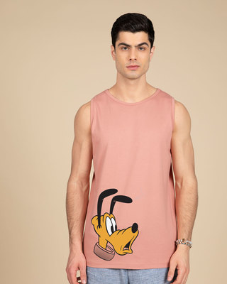 Shop Surprised Pluto Vest (DL)-Front