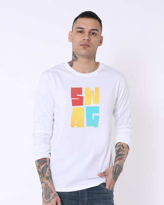 Buy Swag Colourful Full Sleeve T-Shirt Online India @ Bewakoof.com