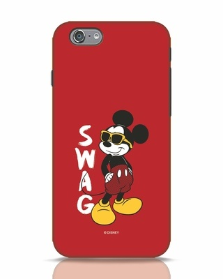 Shop Swag Mickey iPhone 6 Mobile Cover (DL)-Front