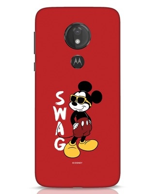 Shop Swag Mickey Moto G7 Power Mobile Cover (DL)-Front
