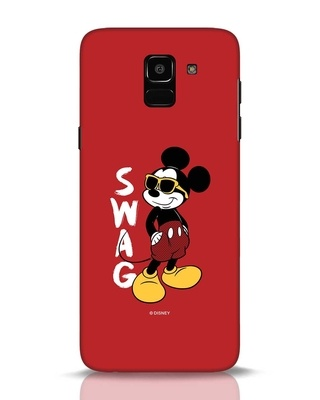 Shop Swag Mickey Samsung Galaxy J6 Mobile Cover (DL)-Front