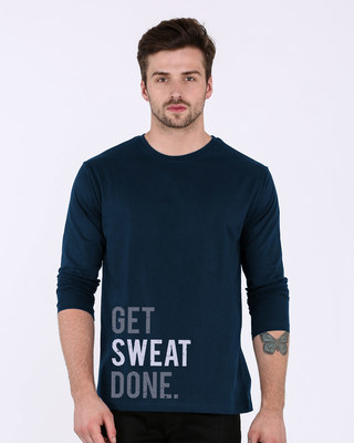 Shop Sweat Done Full Sleeve T-Shirt-Front